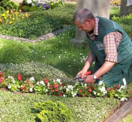 Grabpflege Friedhofsgärtner Gärtner